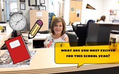 Student/Teacher Interview Discuss the Excitements of a New School Year