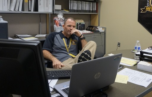 Athletic director Mr. Fehrmann contemplates on the current athletic season.