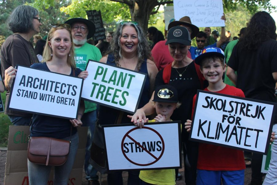 The Global Climate Strike brings locals to protest against climate change in Naperville