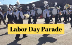 Labor Day Parade Vlog: A look inside the Marching Mustangs