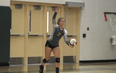 Girls' volleyball drops to 15-15 record with two set loss against Waubonsie Valley