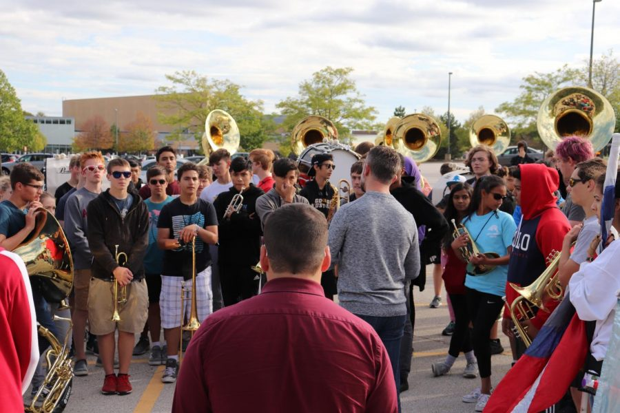 Marching Mustangs and music department do not compete against other schools