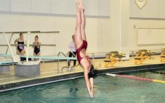 Girls' diving team proves to be a force to be reckoned with
