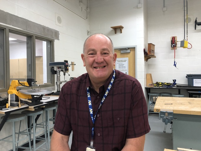Paul Holba, Technology and Engineering Teacher