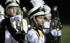 The Marching Mustangs close out their season with one last performance