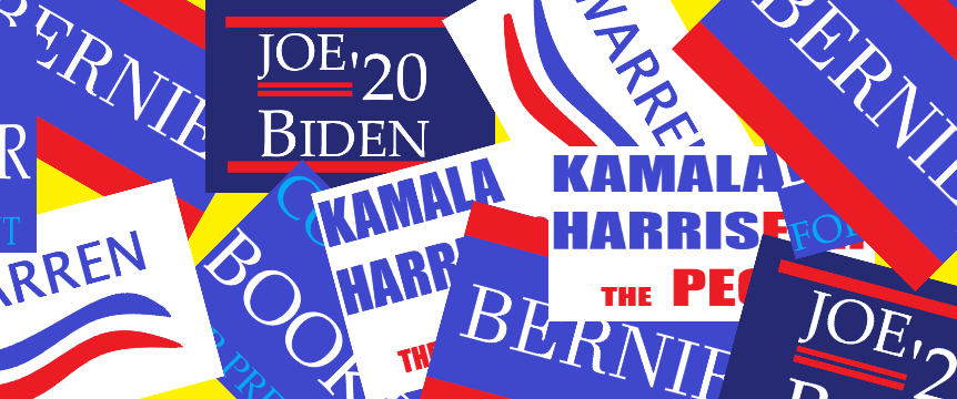 Twelve+Democratic+contenders+battled+it+out+in+Ohio+on+Wednesday+to+get+voters%27+attention+before+the+Democratic+primaries+and+caucuses.