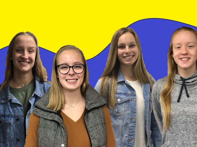 Humans of Metea: Girls' Swim