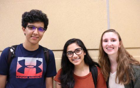 Shriman Gupta, Megha Saravanan, Caitlin Monagan