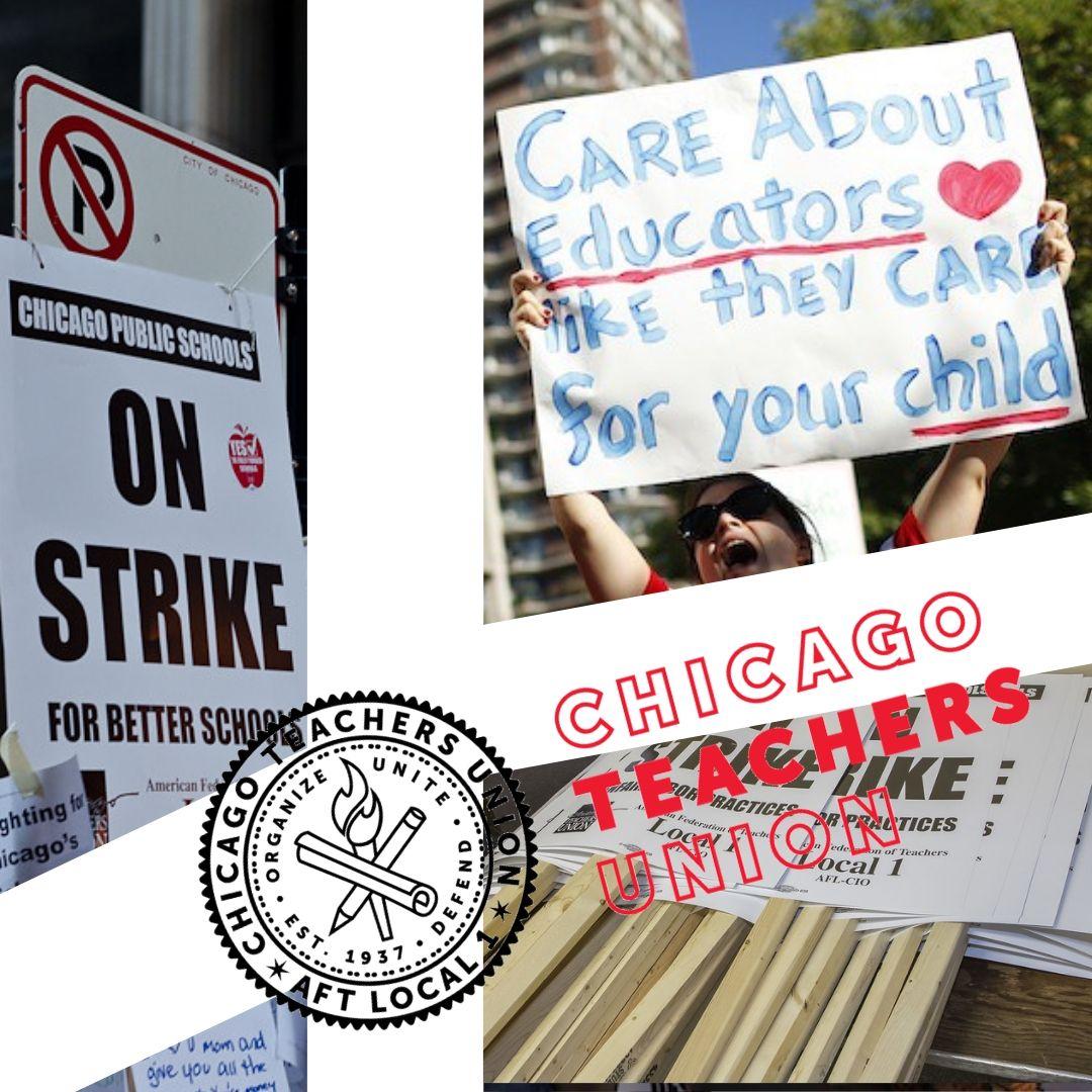 CTU Teachers strike as they clash with Mayor Lightfoot
