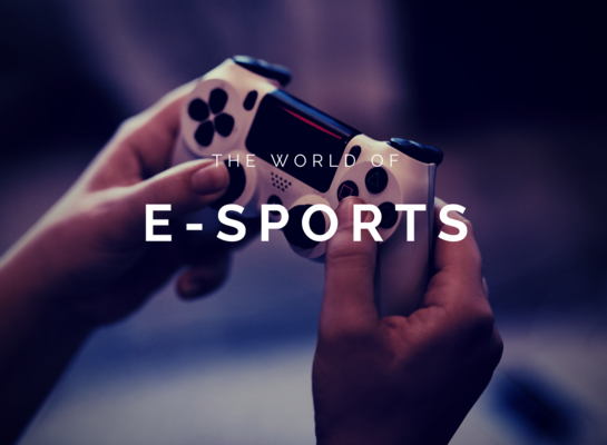 Esports are currently  rising in popularity due to corporations funding.