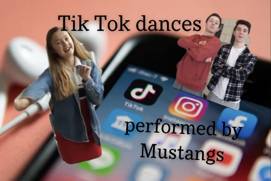Students perform their favorite Tik Tok dance between classes