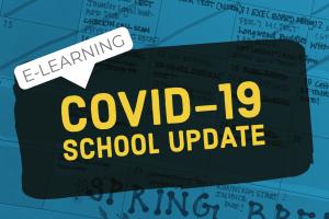 COVID-19 school update: e-learning