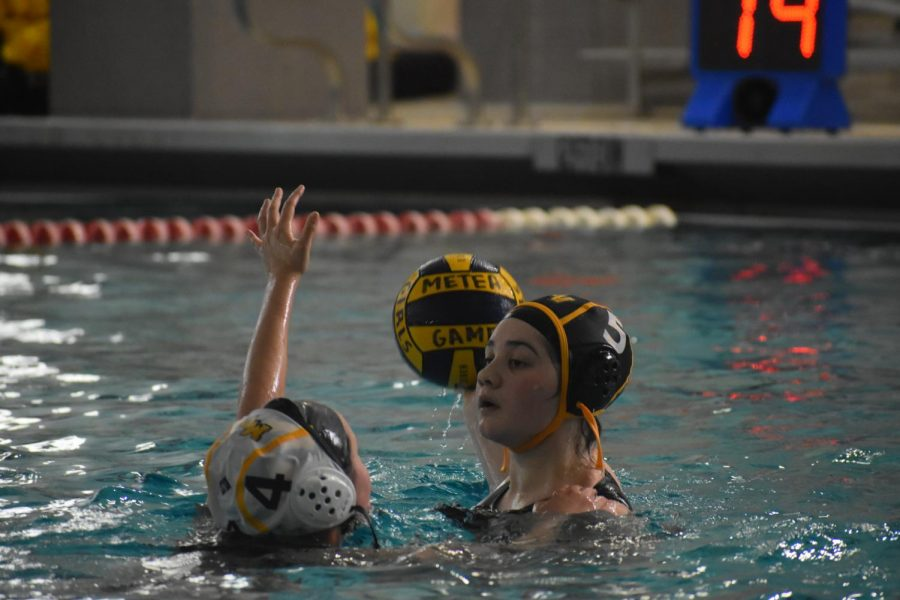 Girls water polo dominates in a lopsided win over Hinsdale South