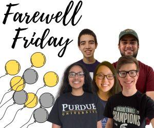 Farewell Friday: Robotics Seniors