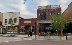 Small businesses in downtown Naperville have a hard time keeping business.
