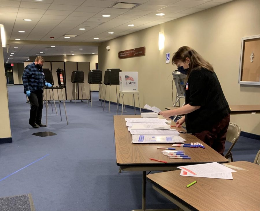 As the polling places began to close, each election judge had a responsibility in order to keep the process running efficiently.