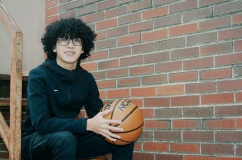 Jordan Vargas has a deep passion for basketball. His love for the game is what inspires him to make his podcasts.