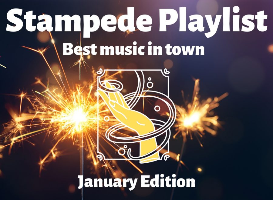 Start the new year with The Stampede staff's 12 recommended songs. Check them out below.