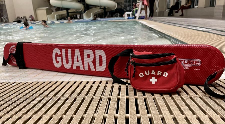Grace's love for being in the water is what fuels her love for lifeguarding.