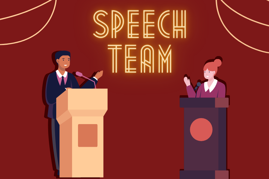 Speech team invites all to attend the 2021 State Showcase via Zoom on Thursday at 2:30 p.m where the Mustangs will perform before heading off to the state tournament.