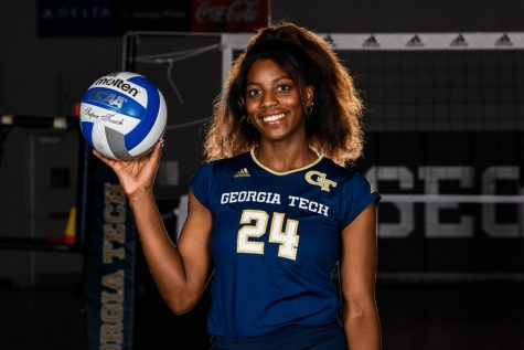 Mikaila Dowd led her team in kills per set during her freshman year with the team.
