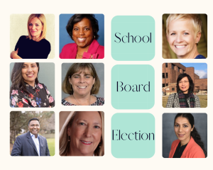 The district will hold the school board election on April 6. Despite there being 11 candidates, there are only four seats open on the school board. Meet the candidates below.