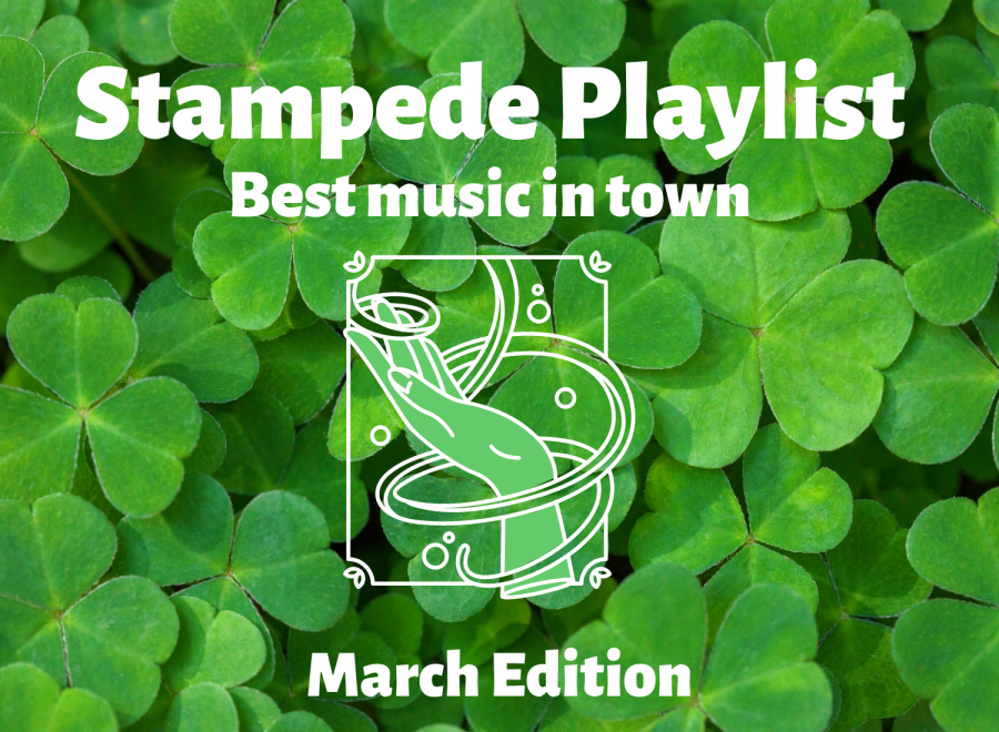 The+Stampede+staff+members+share+their+favorite+music+for+the+month+of+March.