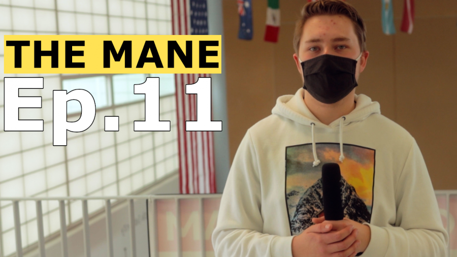 S5 E11 The Mane - Anti-Hate, 60-Second News, Student Podcasters, Cheer, Schedule, Zoom Humor & More