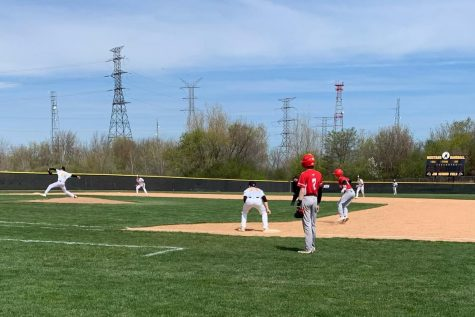 The Mustangs grabbed a big victory against Aurora Christian last Saturday, winning 9-3.