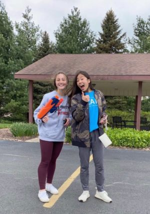 Fourth place winner Jenna Popko eliminated Abby Jue in the second round.