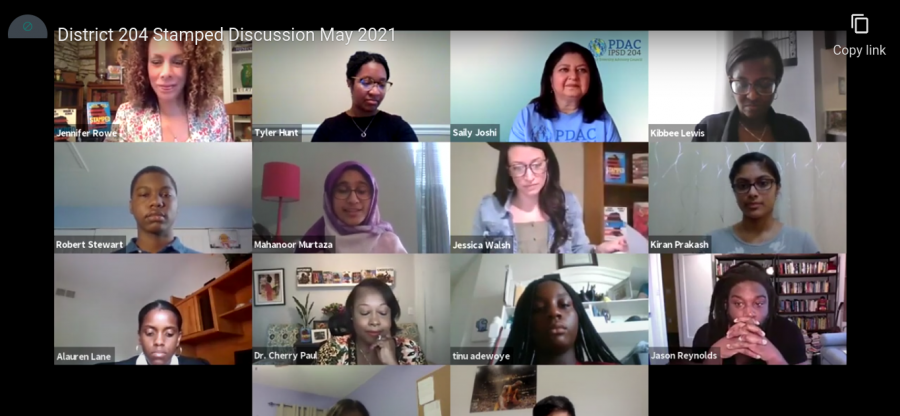 PDAC+holds+an+online+zoom+webinar+with+American+Author+Jason+Reynolds+and+Sonja+Cherry+paul+who+is+an+educator%2C+author%2C+and+co-founder+of+the+Institute+for+Racial+Equity+in+Literacy.