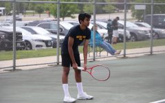 The boys' tennis team has stayed strong despite an overwhelming season.