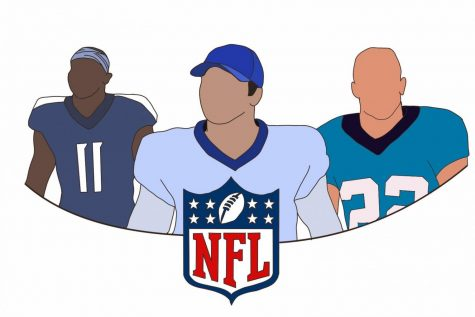 As the new NFL season begins, some names to look out for this year are Julio Jones who plays for the Titans, Josh Allen who plays for the Bills, and Christian McCaffrey who plays for the Panthers.