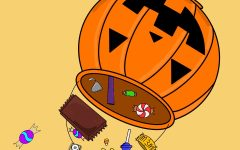 Even though we are growing up, students' love for candy does not seem to change.
